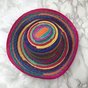 Colorful Straw Sun Hat